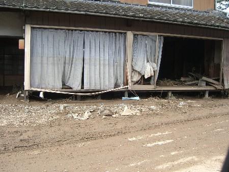 兵庫西部 北部 豪雨 佐用町 被害状況 画像 2